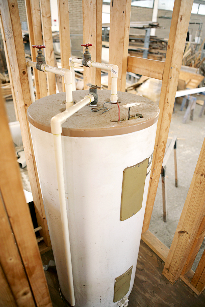 home water heater installation